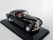 1954 Bentley R-Type schwarz + Vitrine, Yat Ming Modell 1:43