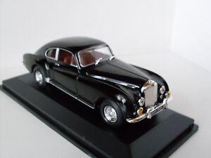 1954 Bentley R-Type Noir + Vitrine, Yat Ming Modèle 1:43