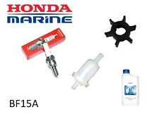 Honda 15hp BF15A Outboard Service Kit (Impeller Spark Plug Fuel Filter)