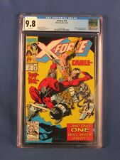 MARVEL COMICS CGC 9.8 X FORCE 15 10/92 WHITE PAGES