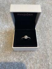 Hermosa Caja De Pandora Halo Anillo Con Talla 50