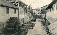 Carte MONTARGIS Les Vieilles Tanneries La roue à aubes