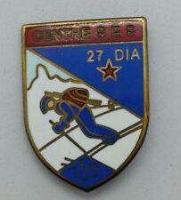 Insigne éclaireur skieur Centre SES 27e DIA infanterie alpine - Retirage