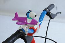 SNOOPY BICYCLE BIKE HANDLEBAR AEROPLANE TOY GREAT PRESENT BIG DISCOUNT PURPLE