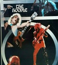 """Moot The Hoople Band Poster Original 1975 Glam Rock Music 22"""" Wall Artwork NOS"""