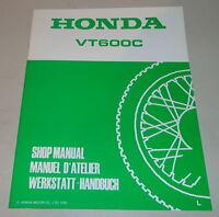Workshop Manual Supplement Workshop Manual Supplement 1990 Honda VT 600 C Shado