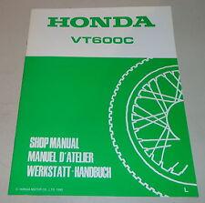 Werkstatthandbuch Ergänzung Workshop Manual Supplement 1990 Honda VT 600 C Shado