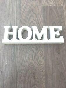 Deko Home Holz Schriftzug Buchstaben Dekoaufsteller Figur Neu