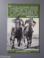 R&L Vintage Mag, The Miniature Camera April 1949, Airshow/River Photography