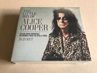 THE LITTLE BOX OF ALICE COOPER (3CD)  by ALICE COOPER  Compact Disc 3 CD Box Set