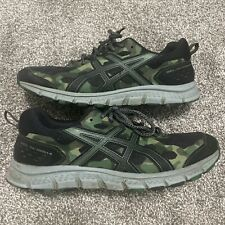 New listing ASICS Gel-Scram 4 Mens Running Shoes Size 10.5 Black Camo Camouflage 1011A045