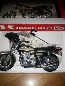 RARE POLISTIL 1/10 MOTO KAWASAKI 900Z NEUVE BOITE