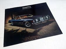 1974 Pontiac Grand Prix Brochure