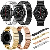 New Stainless Steel Wrist Strap Metal Band For Samsung Gear S3 Frontier/Classic