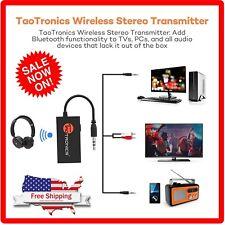 **New** TaoTronics TT-BA01 Wireless Bluetooth audio Transmitter