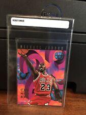 1995-96 NBA Hoops Michael Jordan Basketball Card #1 NM-Mint FREE SHIPPING