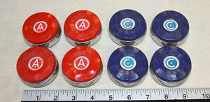 American brand shuffleboard replacement pucks  - set of 8 for 1 price