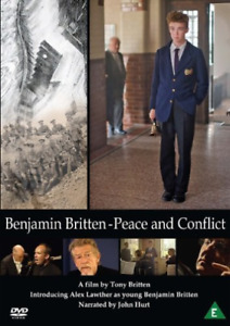 Alex Lawther, Jeremy Lloyd-Benjamin Britten: Peace and Conflict DVD NEW
