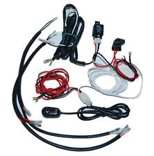 Universal Headlight Halo Angel Eye Drl LED Lights Lamp Wiring Harness Switch Kit