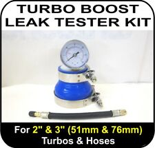 "TURBO BOOST LEAK TESTER Fits 2"" & 3"" (51 & 76mm) Turbos Pipes Hose Car Van Truck"