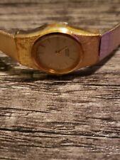 Seiko 2p20320 Gold Tone Womans Watch