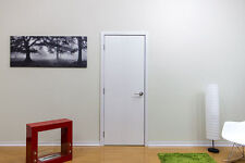 "24"" X 80"" Modern Interior Wood Door With Frame Included No Pre Hung White"