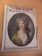 THE CONNOISSEUR OLD VINTAGE MAGAZINE 1910S FEB 1913 ANTIQUE ART DOLLS HOUSE