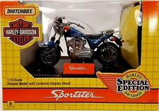 1993 Matchbox Harley-Davidson Motor Cycles Sportster Special Edition w/ Stand