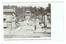 Hot Springs Arkansas Grand Entrance Government Reservation early view