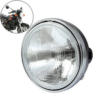 Motorcycle Round Halogen Headlight 12V60/55W H4