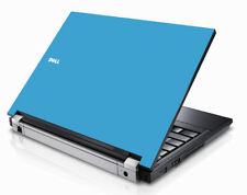 SKY BLUE Vinyl Lid Skin Cover Decal fits Dell Latitude E5400 Laptop