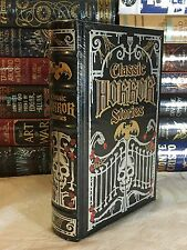 CLASSIC HORROR STORIES by Lovecraft Poe Stoker- More! LEATHERBOUND & BRAND NEW!
