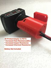 HL Battery adapter for Milwaukee 12V M12 dock power connector 12 gauge robotic