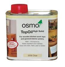 OSMO TOP OIL | Clear Matt 3058 | Wooden Worktops | Internal Joinery | 500ml
