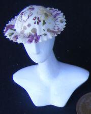 1:12 Scala Donna Morbido Marrone Scuro Cappello Tumdee Bambole Abbigliamento Ho