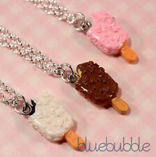 FUNKY ICE CREAM NECKLACE CUTE KITSCH RETRO KAWAII JUNK FOOD SWEET CANDY EMO