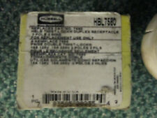 Hubbell Receptacle, 3W 15A 125V New Surplus