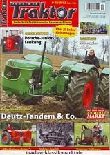 Oldtimer Traktor 9-10/12 Deutz - D 5505-Tandem/Brummer-Traktoren/Allis Chalmers