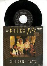 "7 ""  Single Bucks Fizz      -   Golden Days"