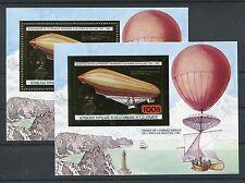 Guinea Block 68 A + B postfrisch / Ballone - Zeppelin ....................1/2043