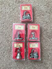 DISNEY EXPRESS GENUINE PEWTER IN BOXES (5)