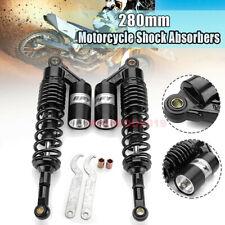 2pcs 11'' 280mm Rear Air Shock Absorbers Suspension Fit ATV Motorcycle Dirt Bike