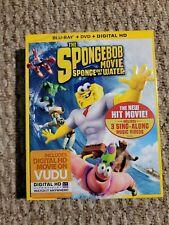 The SpongeBob Movie Sponge Out Of Water(Bluray+DVD+Digital HD) Brand New