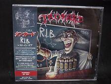 TANKARD R.I.B. (Rest In Beer) JAPAN CD Tankwart Lightmare Seventh Avenue