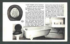 Ca 1921 RPPC* That Funny Little Room Story Used Has Small Tear