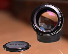 Nikon NIKKOR 85mm f/1.8 (NEAR MINT)  with hood HN-7
