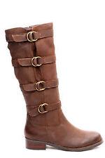 "3/4"" to 1 1/2"" Low Heel Knee High Boots for Women"