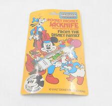 Vintage Richards Pocket Money JACKNIFE Taschenmesser - Walt Disney - Robin Hood