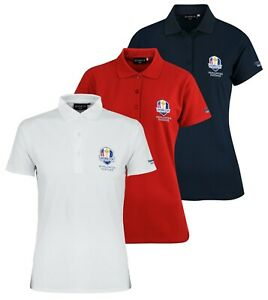 Glenmuir Sophie Ryder Cup Crested Ladies Golf Polo Shirt - RRP£40 ALL SIZES