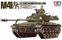 Tamiya 35055 1/35 Scale Military Model Kit US M41 Type Walker Bulldog Tank